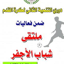 بمشاركة (128) لاعب غداً تنطلق مباريات دوري التنمية الثاني لكرة القدم