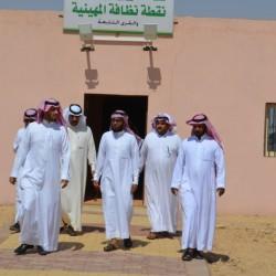 بالصور أعضاء المجلس البلدي يزورون القرى التابعة لبلدية مدينة الأجفر  ( طلحاء والمهينية والخوير)
