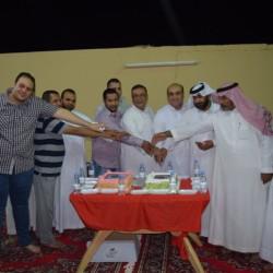 أعضاء مجلس التنمية بالأجفر يحتفلون بسكرتير اللجنة هاني العناني بمناسبة قدوم مولودته (فرح)