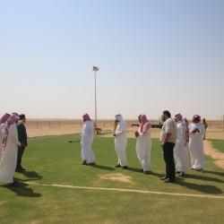 بالصور … رئيس بلدية الاجفر ومدراء الاقسام بالبلدية يزورون بلدة الرديفه…