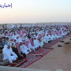 بالصور : صلاة عيد الفطر المبارك بالأجفر