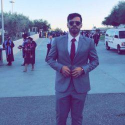 عبدالله السالم يحصل على البكالوريس من جامعة كاليفورنيا بامريكا