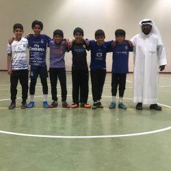 منتخب المرحلة الابتدائية بالأجفر يشارك بدوري المدارس الابتدائيه بمنطقة حائل لكرة القدم
