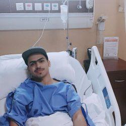 عملية رباط ناجحة ولله الحمد للاعب نايف النحيطر بمستشفى سليمان الحبيب بالرياض
