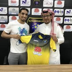التعاون يُجدد عقد فهد نايف الشمري لموسمين