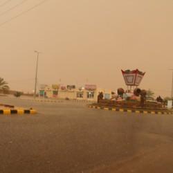 بالصور امطار على مدينة الأجفر يوم الخميس 09 / 07 / 1438هـ