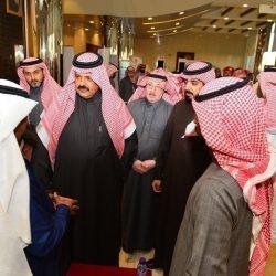 الأمير عبدالعزيز بن سعد يتفقد ملتقى حائل الأول للتوظيف 2019