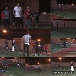 فريق الأجفر الرياضي يبدأ التمارين استعداد لدورتي الخطة والشنان