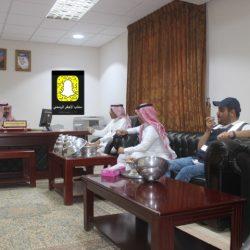بالصور رئيس مركز الأجفر يستقبل مدير مستشفى بقعاء ومساعده خلال زيارتهم التفقدية للمركز الصحي