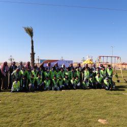 بالصور حملة بلدية مدينة الأجفر للعمل التطوعي