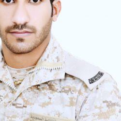 رتبة وكيل رقيب لـ نايل النواف بعد التحاقه بالقوات البرية السعودية