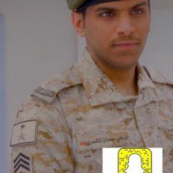 رتبة وكيل رقيب لـ تركي النحيطر بعد التحاقه بالقوات المسلحة السعودية