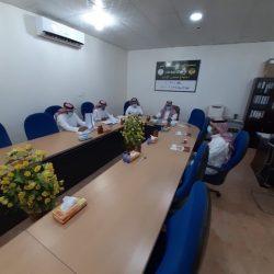 بالصور جمعية بر الأجفر تعقد اجتماعها الخامس