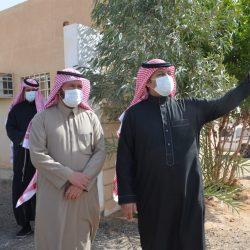 بالصور مدير فرع وزارة البيئة والمياه والزراعة بمنطقة حائل في زيارة للأجفر