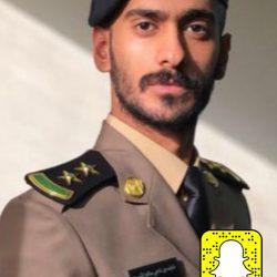 نايف الناجي الى ملازم اول بعد تخرجه من كلية الملك فهد الأمنية