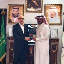 تكريم الرئيس التنفيذي لشركة عكل الأستاذ عبدالكريم النهير