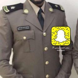عبدالعزيز الكريم الى ملازم بعد تخرجه من كلية الملك فهد الأمنية