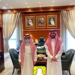 سمو نائب أمير منطقة حائل يستقبل شيخ الويبار من شمر