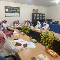 بالصور الجمعية الخيرية بمدينة الأجفر تعقد اجتماع الجمعية العمومية رقم (٢)