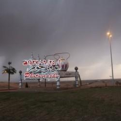 بالصور.. جريان شعيب الاجفر الان وصور الامطار